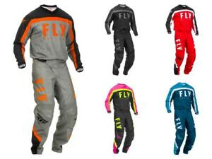 2020 Fly Racing F-16 Adult Motocross Gear Combo - MX SX ATV Off-Road Fly Racing