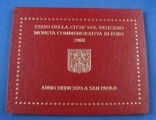 2 Euro Vatikan im Original Folder 2008 San Paolo