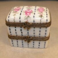 New rectangular with two floors,  Nr.84,  Porcelain Limoges Box NEW