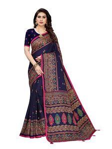 Bollywood Saree Party Wear Indian Pakistani Ethnic Wedding Designer Sari L813