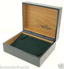 ORIGINAL ROLEX ETUI / BOX - HOLZ LEDER & SAMT - 1980er JAHRE - z.B. SUBMARINER