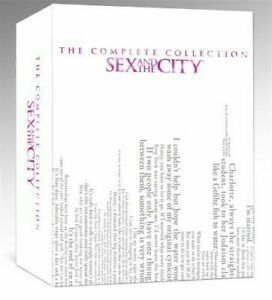 SEX AND THE CITY COMPLETE COLLECTION DVD Series Seasons 1 2 3 4 5 6