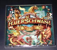 Feuerschwanz Sex Is Muss CD Dans Digipak Rapide Expédition Neuf & Ovp
