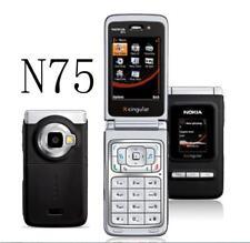 "Nokia N75  Cell Phone Bluetooth 2MP 2G 3G 2MP Camera 2.4"" FM Music Celluar phone"
