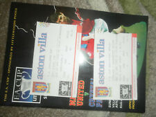 1995 FA CUP SEMI FINAL MANCHESTER UNITED V CRYSTAL PALACE + TICKET