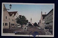 alte AK Langquaid Marktplatz 1919