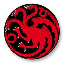 "Pin Button Badge Ø25mm 1"" Game of Thrones Trône de fer House Targaryen"