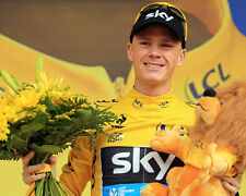 Chris Froome Tour de France Podium 10x8 Photo