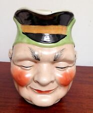 RARE VTG XLG TOBY Pitcher Character Jug WWII Japanese General Yamamoto/Yamashita