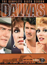 Dallas - Season 6 (DVD, 2007, 5-Disc Set, Dual Side)