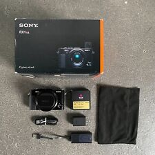 Sony Cyber-Shot RX1R II 42.4MP Digital Camera with B+W Filter, Great Condition!