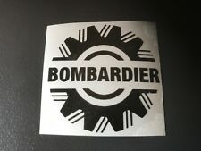 STICKER AUTOCOLLANT BOMBARDIER SPYDER  CAN-AM CAN AM  5 CM casque quad moto