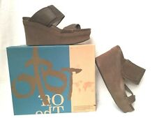 """OTBT """"Brookfield"""" Wedge Sandals in Mint Mesh SIZE 6.5M - NEW IN BOX!"""