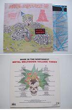 various METAL MELTDOWN 3 III LP 1988 Cyperus, Kil d'kor, Coven, SPEED METAL