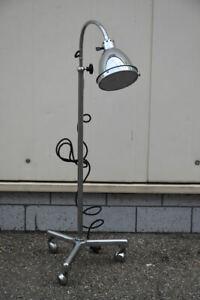 f92r06- Stehlampe/ Arztlampe, Chr. Dell, Bünte & Remmler, Bauhaus 20/30er J.