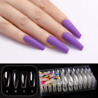 240pcs Nails Full Cover French False Nail Art Tips Acrylic UV Gel Manicure Tips