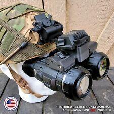Nightwatch Sionyx Aurora Binocular Bridge Helmet Night Vision Nvg Nods Mount