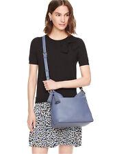 NWT Kate Spade Orchard Street Natalya Shoulder Bag Satchel Purse $348 OysterBlue