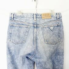 Vintage GUESS JEANS GEORGES MARCIANO WASH 36 Acid Wash