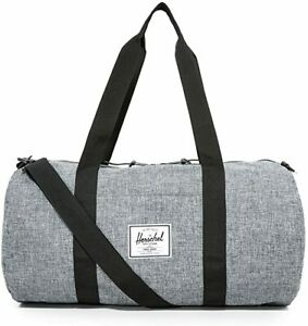 Herschel Supply Co Duffle Bag Gym Training Travel Carry On Grey TJX Sutton - NEW