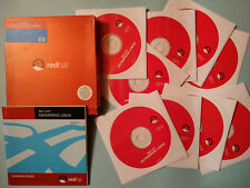Red Hat Enterprise Linux Version 3 ES 9 CD + manuale