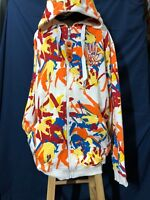 Miskeen All Over Skater Camo Hoody In Color White Red Brand New with OriginaTags