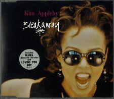 """KIM APPLEBY - 5"""" CD - Breakaway inc (L's Midnight Mix), Mama. UK  Mel & Kim"""