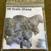 00 Scale Sheep - Model Raiway Farm Animals Resin Wargame Scenery oo/ho 1/76