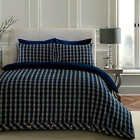Highland Tartan Check 100% Cotton Brushed Flannelette Duvet Cover Set All Sizes
