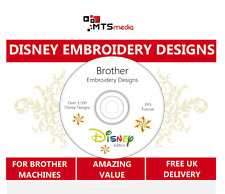 Disney Embroidery Designs for Brother Machines in PES Format - Huge Collection