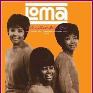 VAR-LOMA: A SOUL MUSIC LOVE AFFAIR-SOMETHING'S BURNING-VOL. 1 vinyl LP-Brand ...