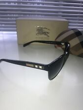 BURBERRY BE4068 POLARIZED SUNGLASSES WOMENS BLACK LUXOTTICA GROUP READ INFO