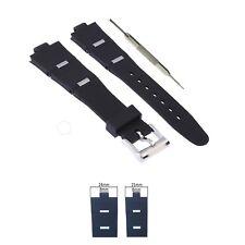8X21mm Black Watch Band Strap Compatible BVLG Diagono + Tool