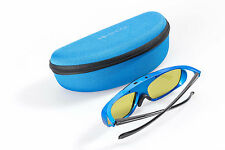 3D-Brille aktiv DLP Blue Heaven   DLP-Link für Beamer von Optoma Acer Benq JmGO