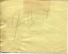 Judy Canova Gene Howard Singer Jazz Big Band Rare Signed Autograph
