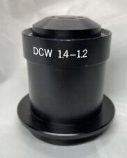 Olympus  BH2 DC-W DCW Microscope Dark Field Oil Condenser 1.4-1.2 fit BX BH2