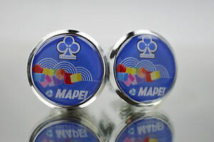 New Colnago Team Mapei Handlebar End Plugs Bar Caps endstopfen lenkerstopfen 3d