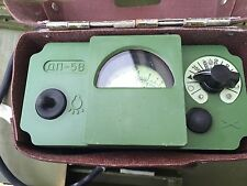 DP-5V (ДП-5В) Geiger counter (radiac) Soviet USSR Dosimeter in BOX