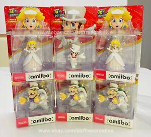 Nintendo Super Mario Odyssey Amiibo Wedding Series PVC Figure Toy Sealed Box