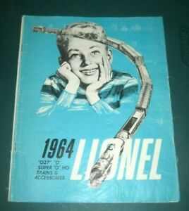 1964 LIONEL TRAINS POSTWAR CATALOG, VERY GOOD