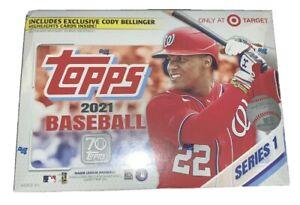 2021 Topps Baseball Series 1 MEGA BOX (256 Cards)- Target Exclusive