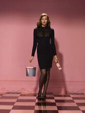 AGENT PROVOCATEUR BLACK  THEODORA DRESS SIZE SMALL/ AP 2 / UK 8 -10 RRP £625