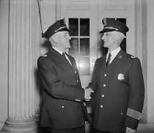 White House Police Officers Dalrymple and Walter October 1937 New 8x10 Photo