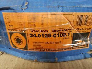 Set of 2 Audi 200 ATE Front Disc Brake Rotors 447 615 301B 447615301B