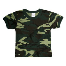 Infant Army Green Camo T-Shirt | CAMOFLAUGE | DRESS | COSTUME | PLAY