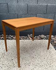 Vintage Mid Century Danish Modern Atomic Arne Vodder Tapered Leg End Table