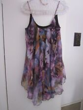 BEAUTIFUL FLOWING DRESS BY ICE, SIZE L APPROX  10