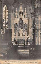 BF3669 eglise de genebrieres autel de la sainte vi france