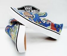 VANS CLASSIC SLIP-ON DISNEY(THE JUNGLE BOOK)BLUE VN-0003DVHSU MEN'S SIZE: 10.5