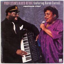 PROFESSOR EDDIE LUSK: Prof. Strut US Delmark Blues, Karen Carroll LP NM Vinyl